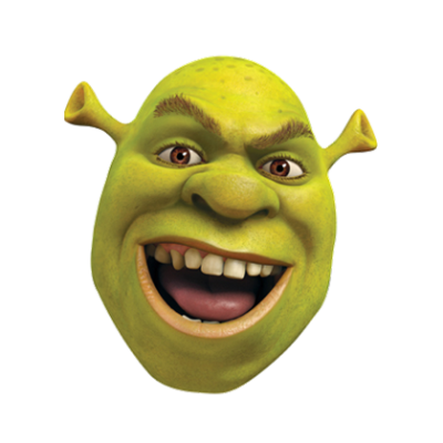 Shrek vector face. Millions of png images