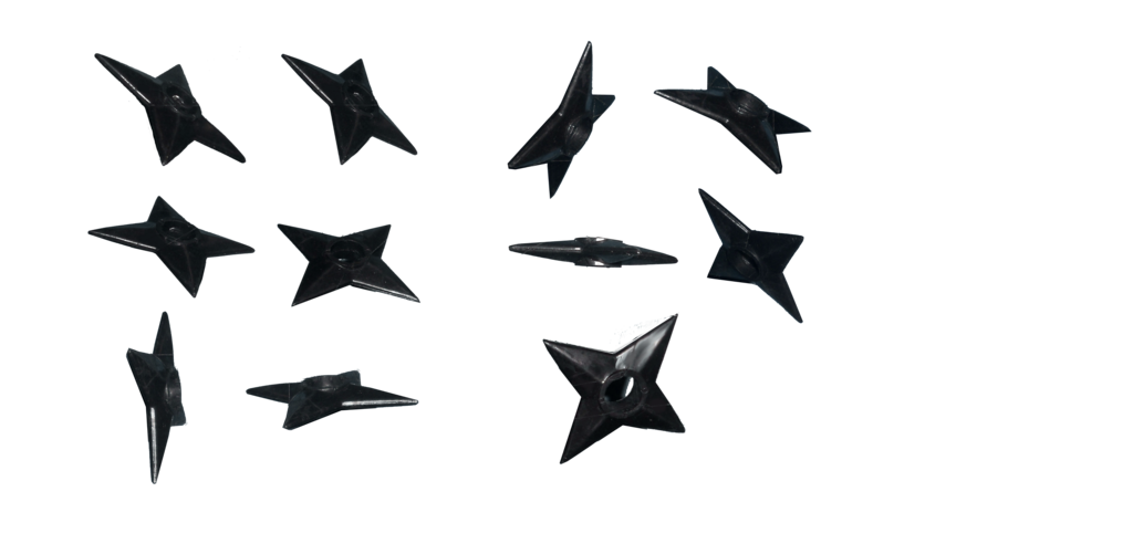 Shuriken naruto png. Shurikens effect brushes by