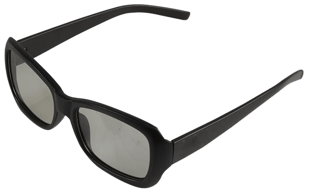 Shutter glasses png. D transparent image