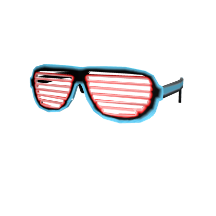 Shutter glasses png. Image neon shades roblox