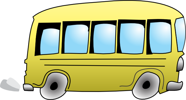 Shuttle clipart animated. Free pictures of bus
