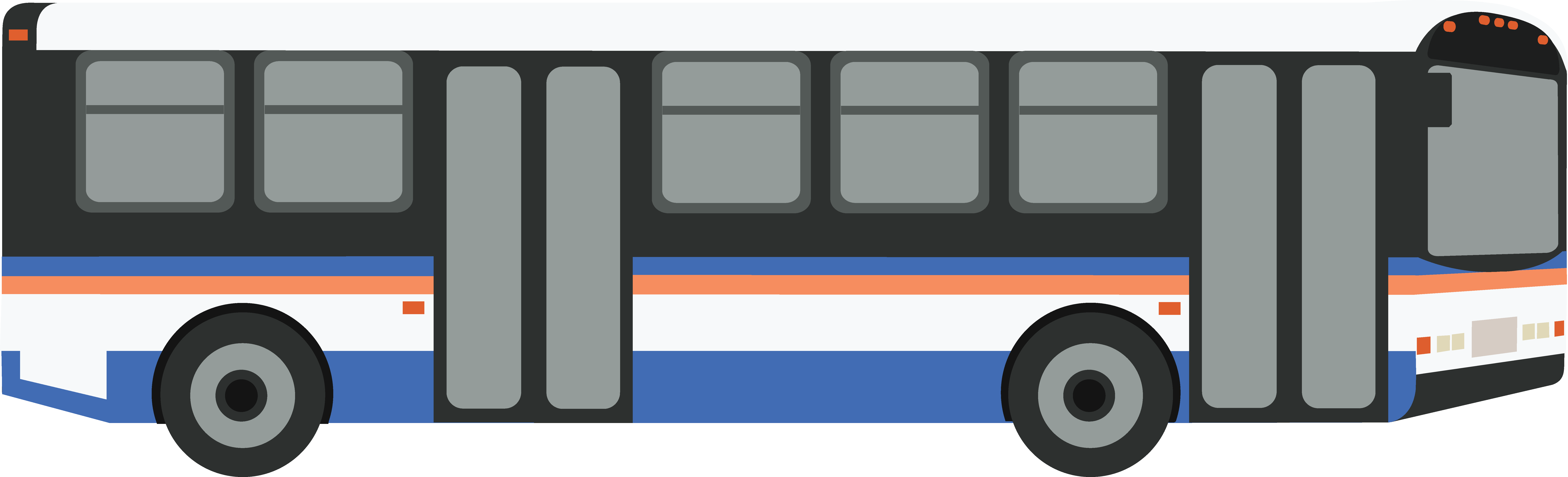 Transport drawing transit bus. Mass clipart clipground public