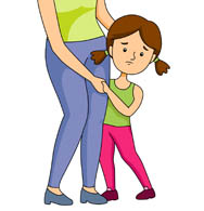 Shy clipart shy child. Search results for children