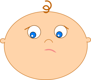 Shy clipart shy smile. Baby clip art at