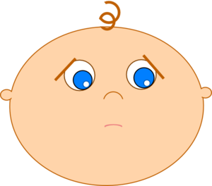 Shy clipart shy smile. Baby not pouty clip