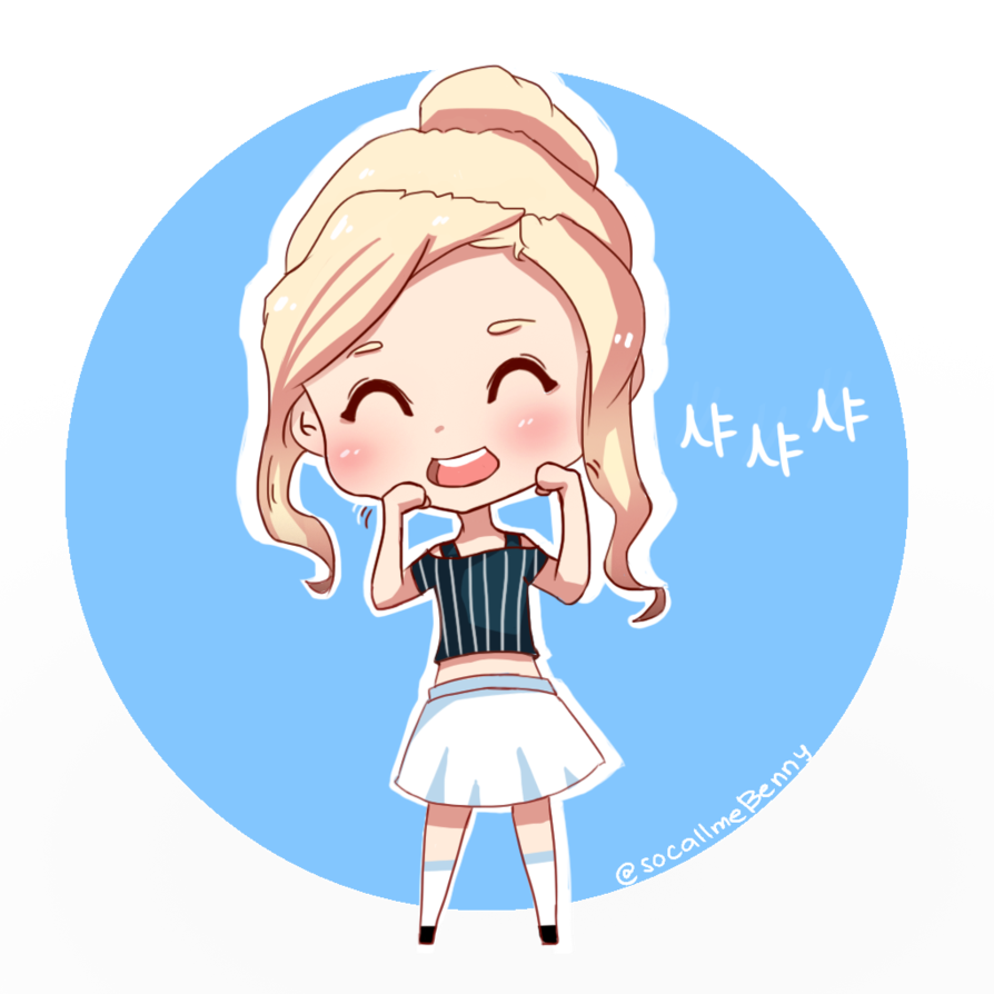 Shy drawing chibi. Sana by bjitaly on