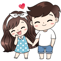 Shy drawing cute couple. Pin by romanee on