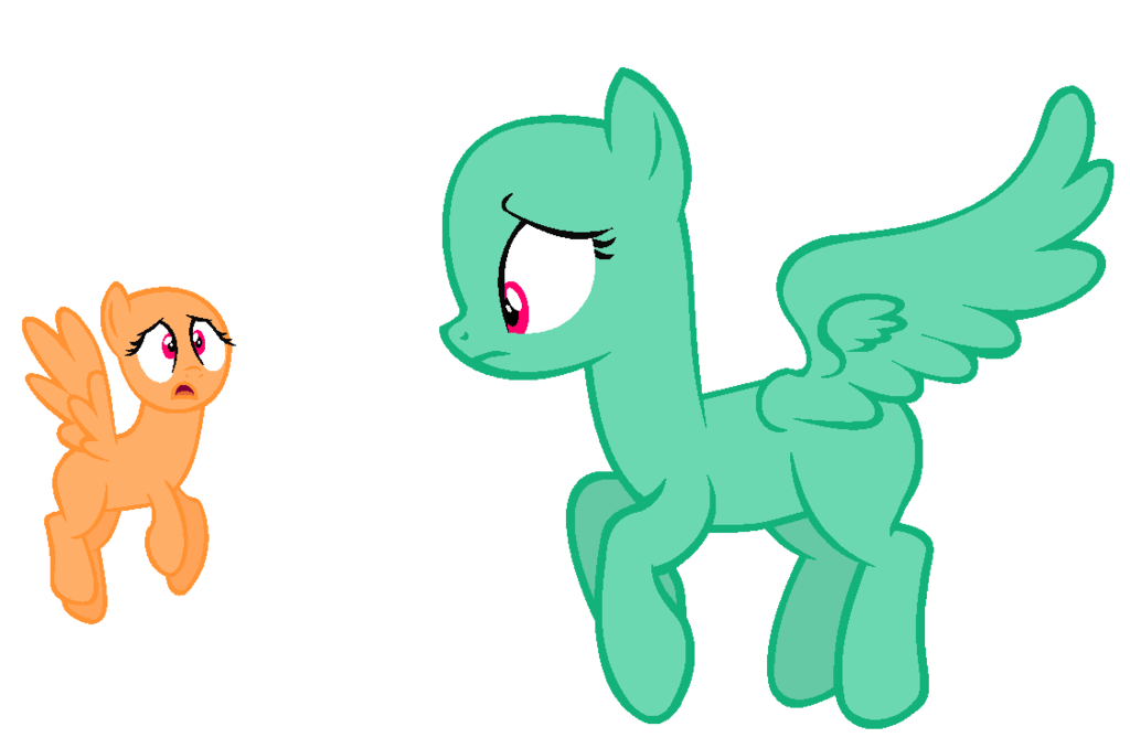 Shy drawing different eye. Mlp base thats my