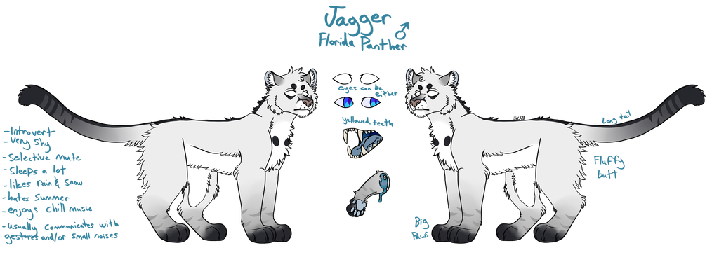 Shy drawing introvert. Jagger ref by bleachguts