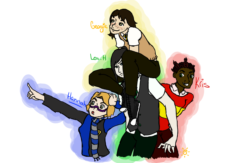 Siblings Drawing Harry Potter Transparent Png Clipart Free
