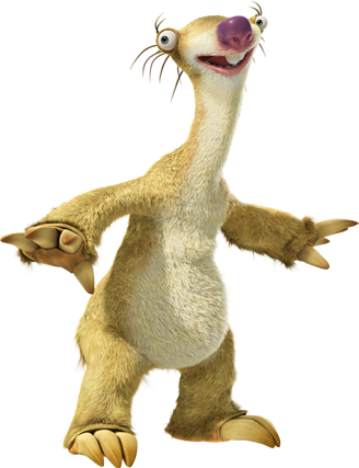 Sid the sloth png. Heroes and villians wiki