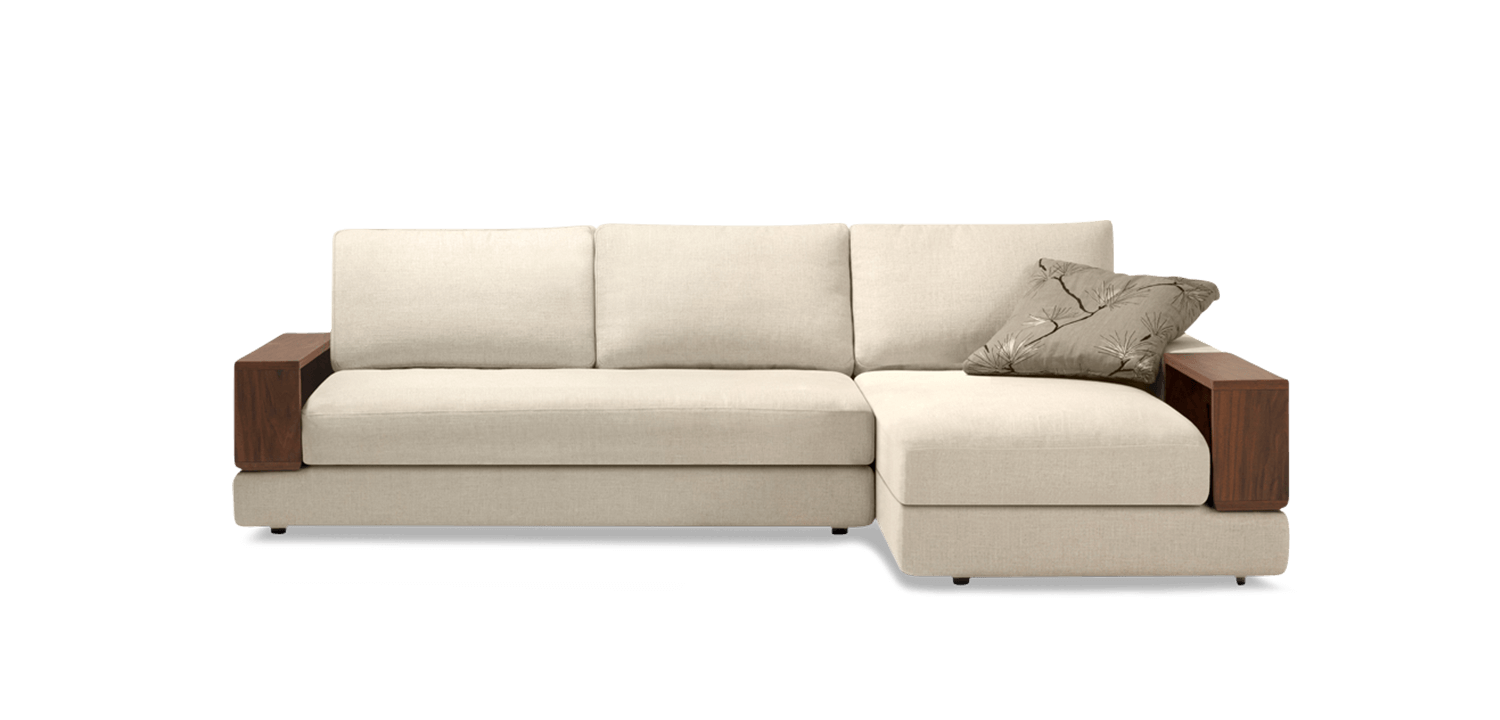 Side drawing couch. Jasper metro flexible modular