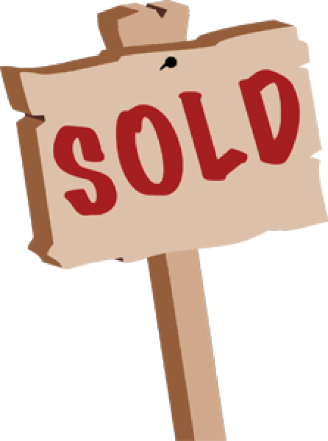 Sold clipartbarn home clip. Sign clipart free library