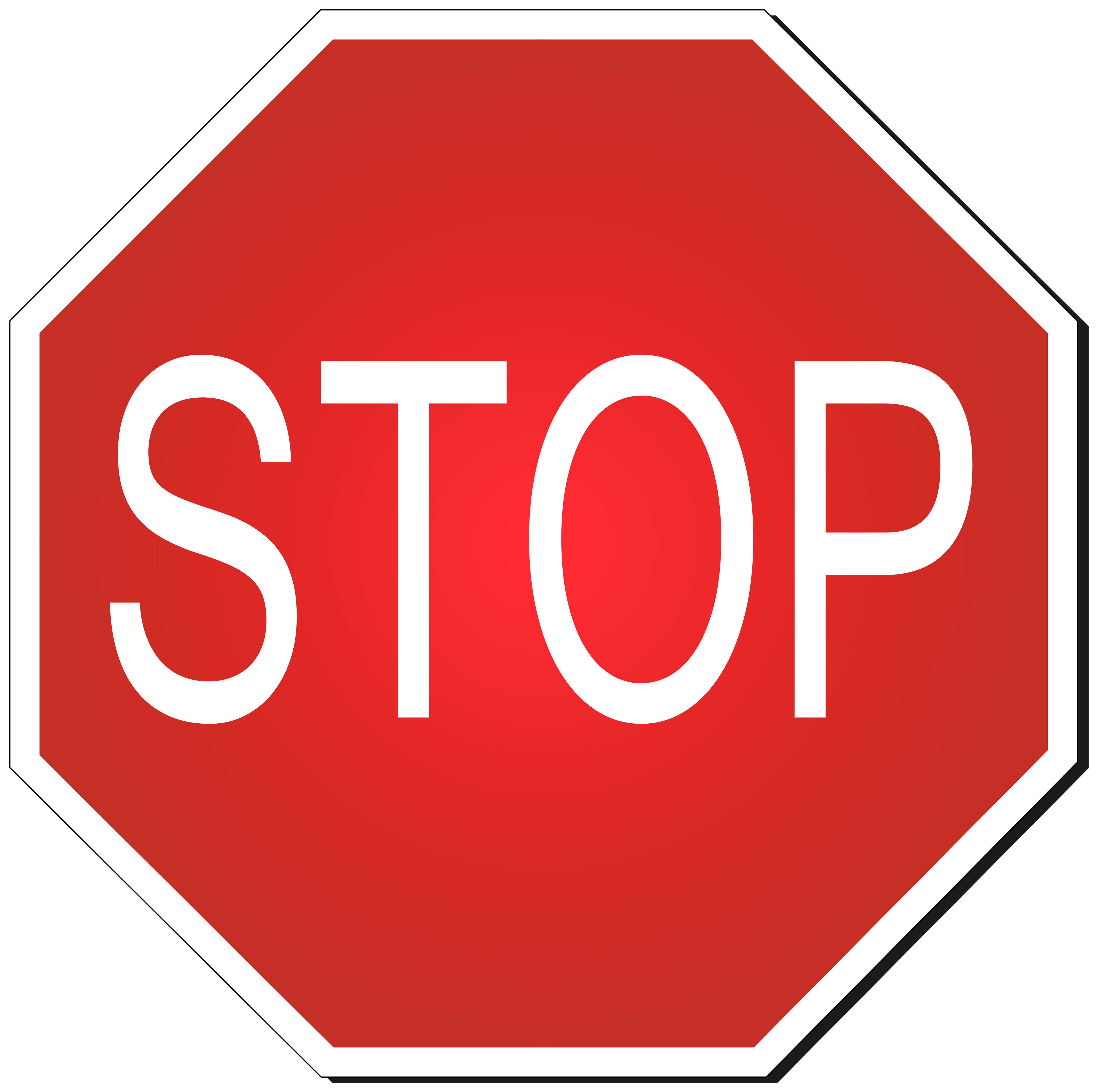 stop sign clipart png