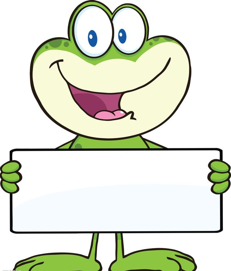 Characters clipart frog. Best thema kikker