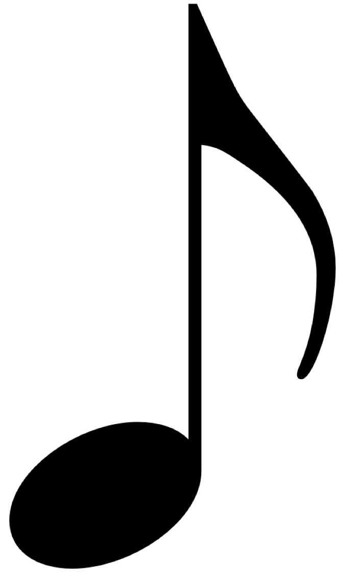 png of of music notes