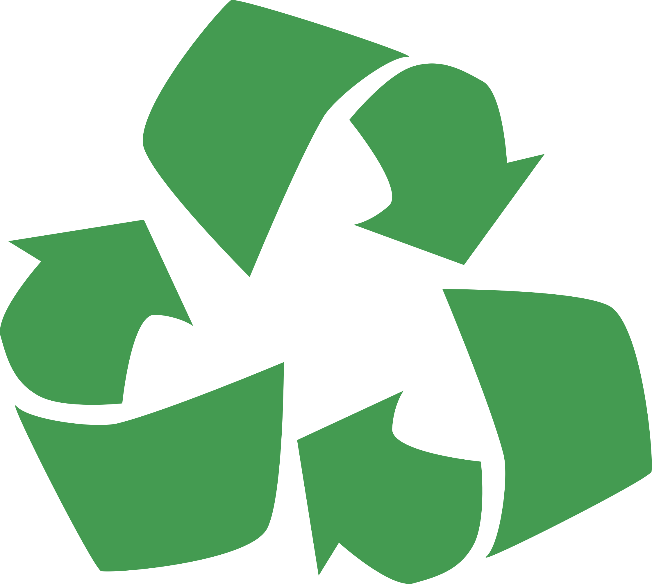 Sign clipart recycling. Recycle symbol big image
