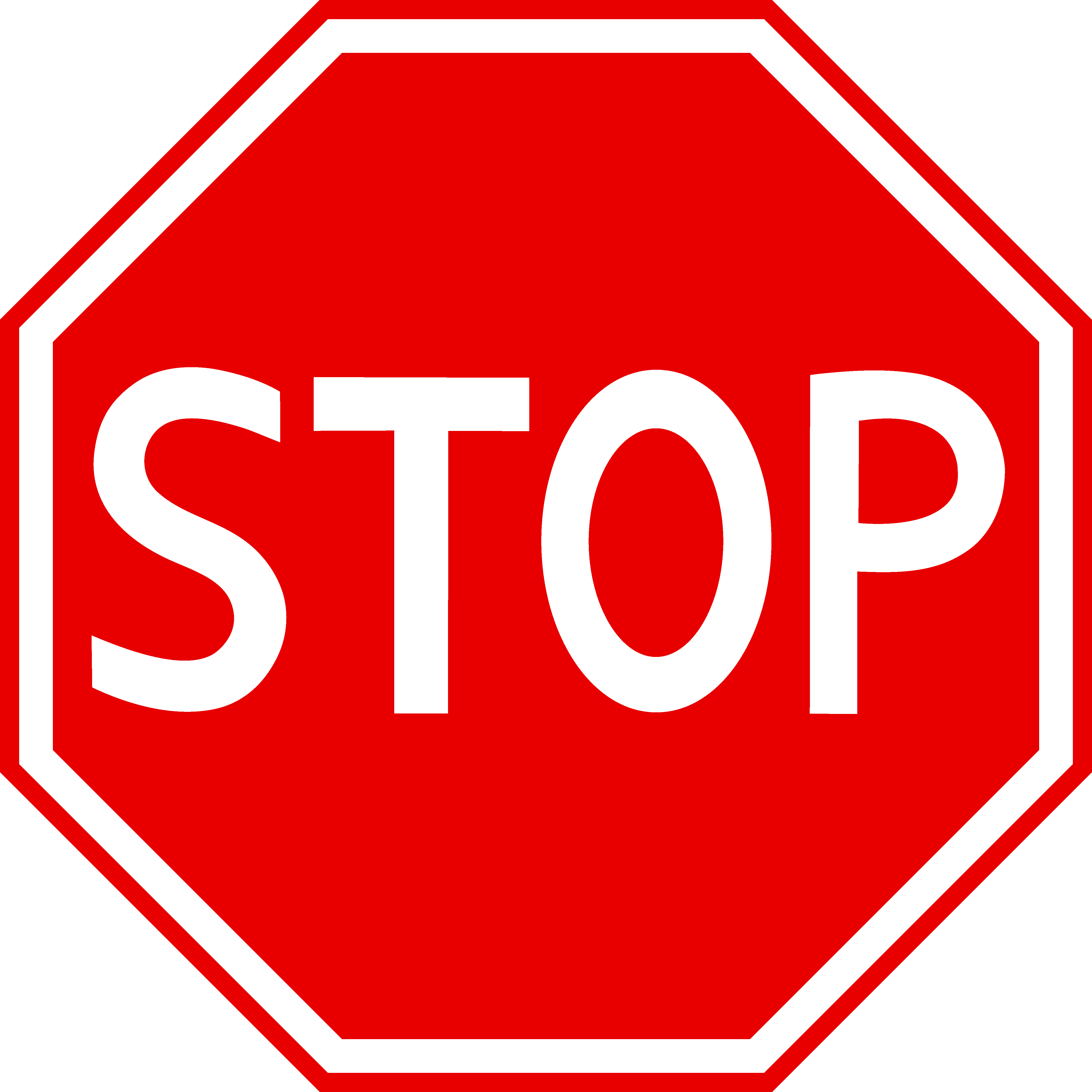 Red stop free clip. Sign clipart jpg royalty free