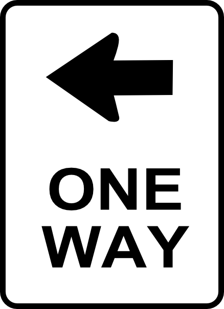 Sign clipart traffic. Printable signs one way
