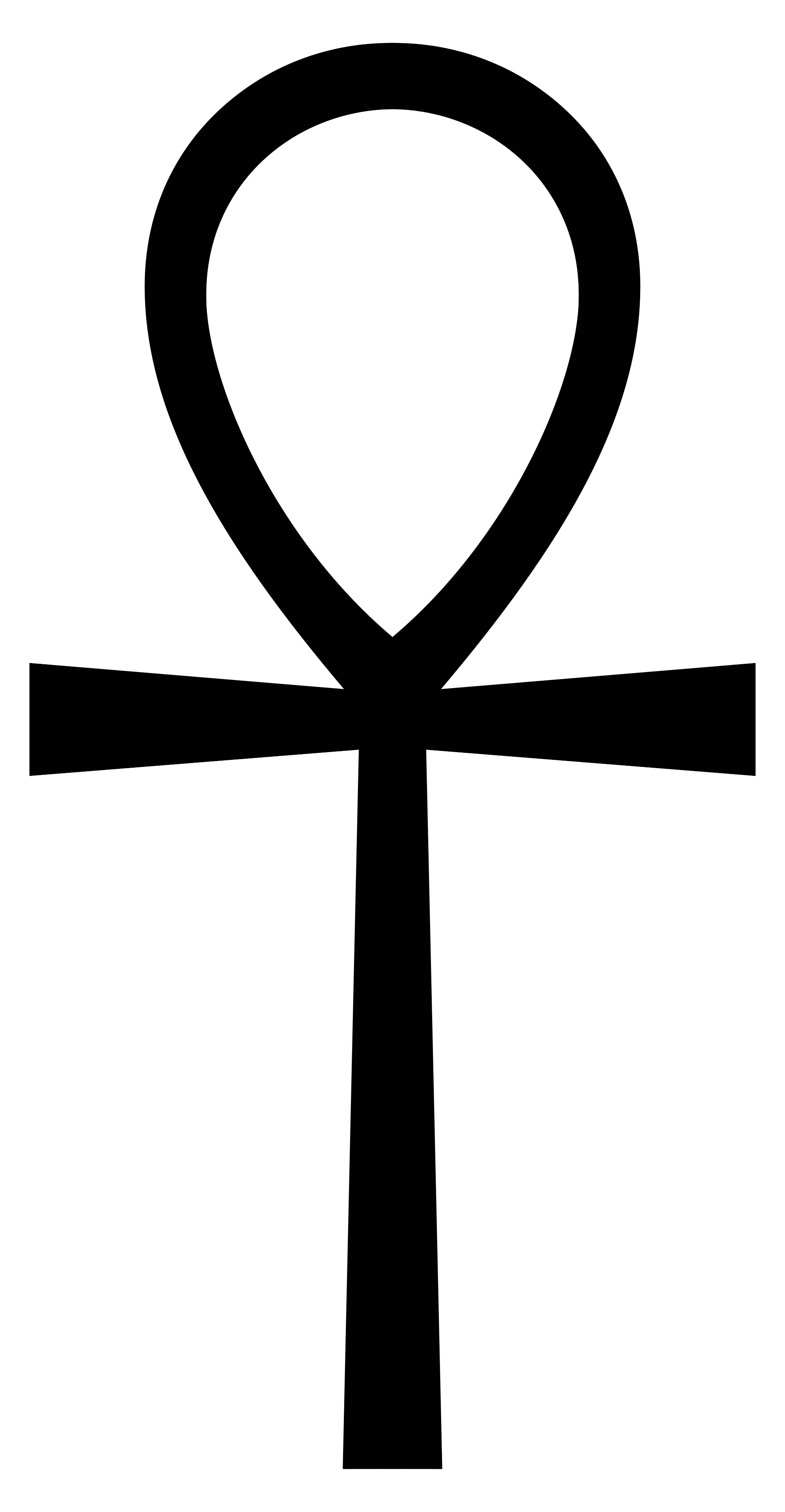 Sign svg egyptian. File ankh wikimedia commons