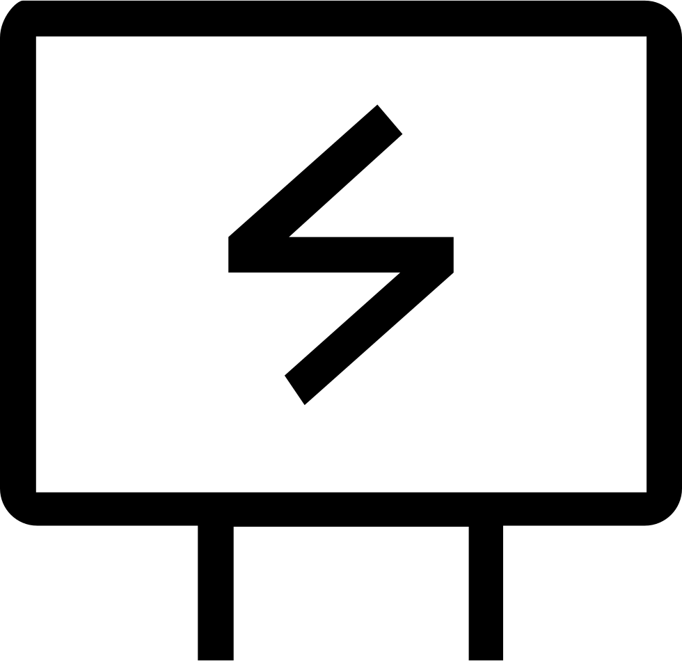 Sign svg electronic. Electrician png icon free