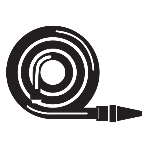 Vector pipe hose. Firefighter icon transparent png