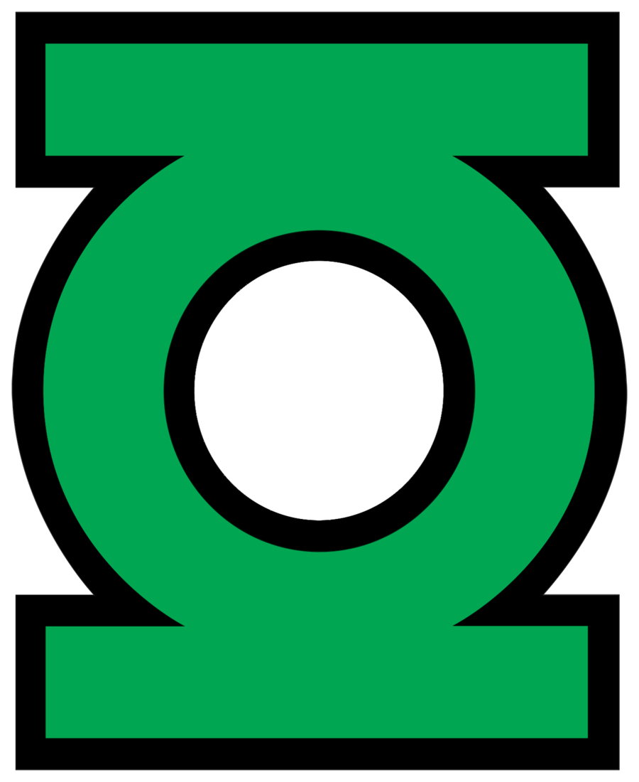 Sign svg green lantern. Logos