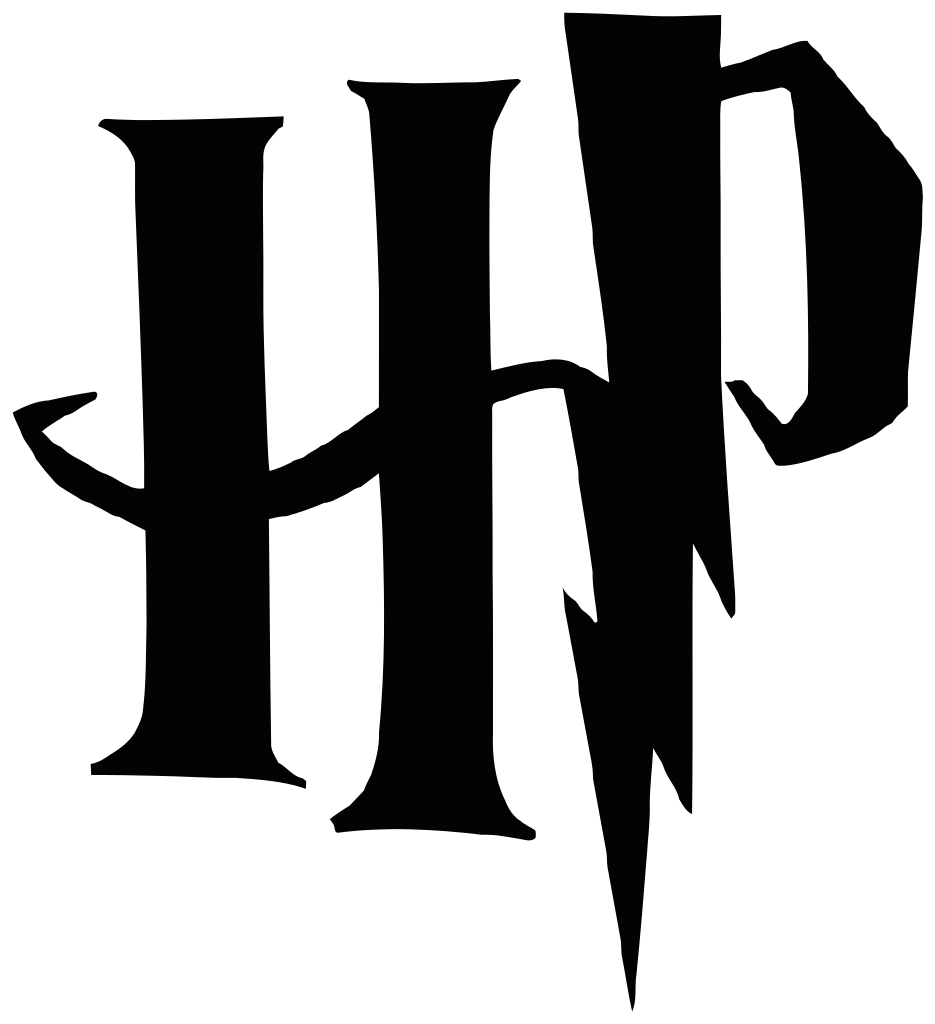 File hp wordmark wikipedia. And svg harry potter clip black and white download