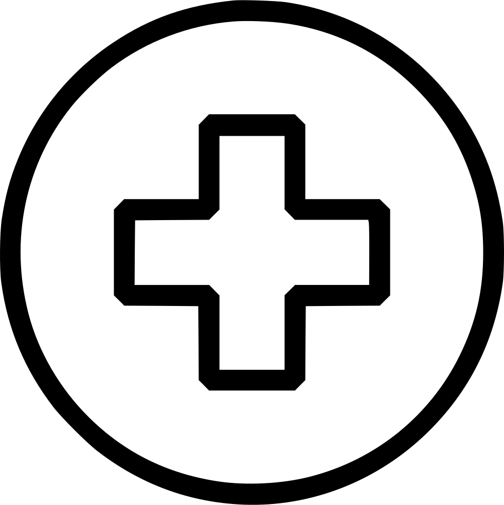 Sign svg medical. Plus add first aid