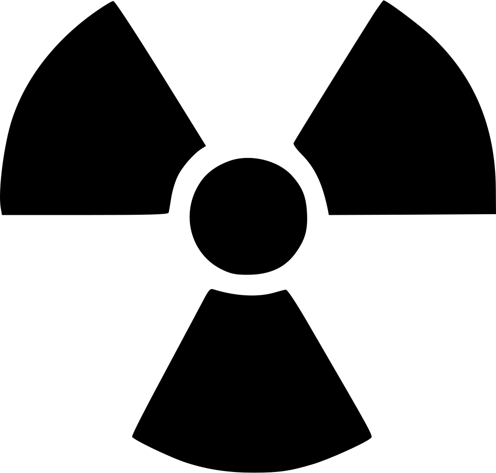 Sign svg radioactive. Png icon free download