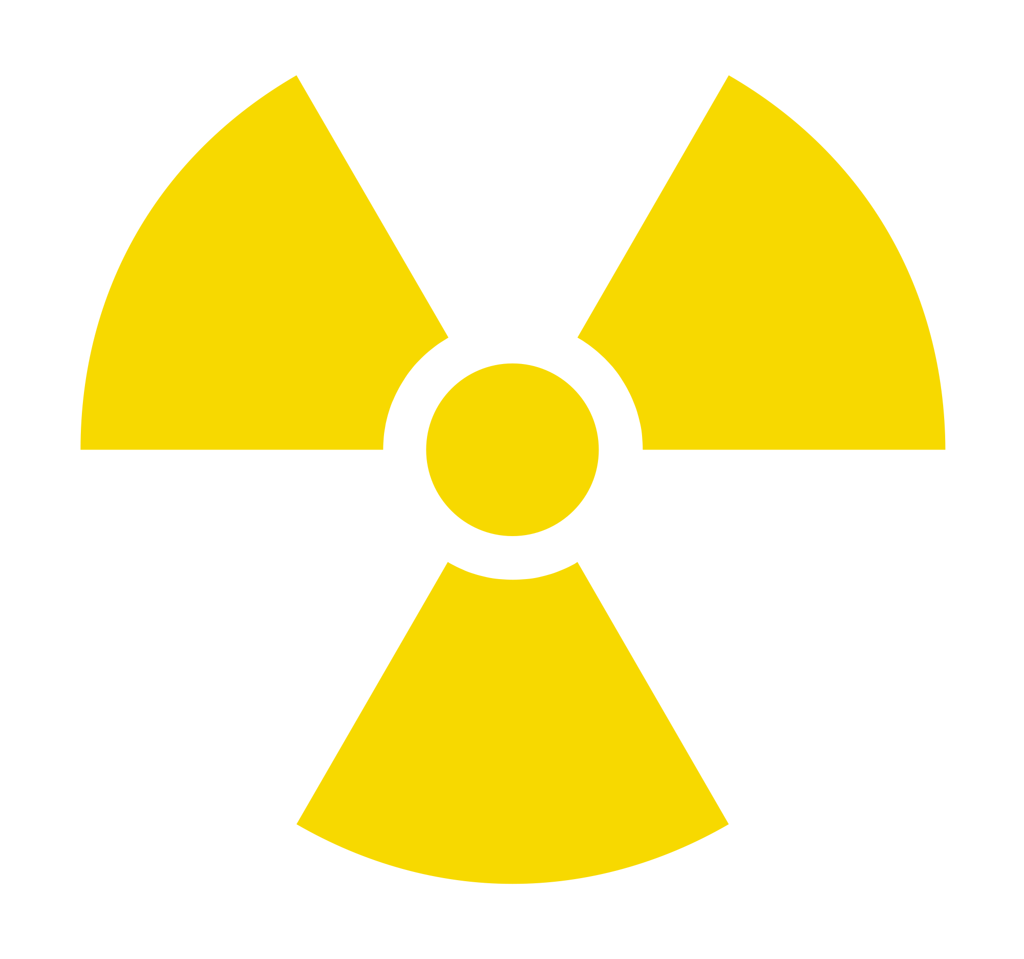 Sign svg radioactive. File yellow wikimedia commons