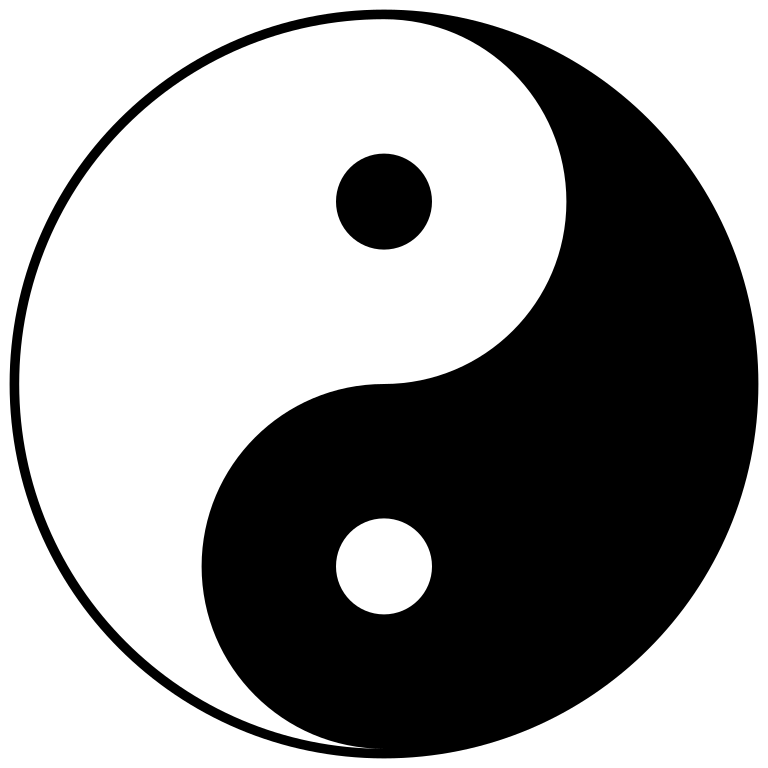 sign svg yin yang