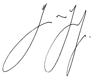 transparent signatures