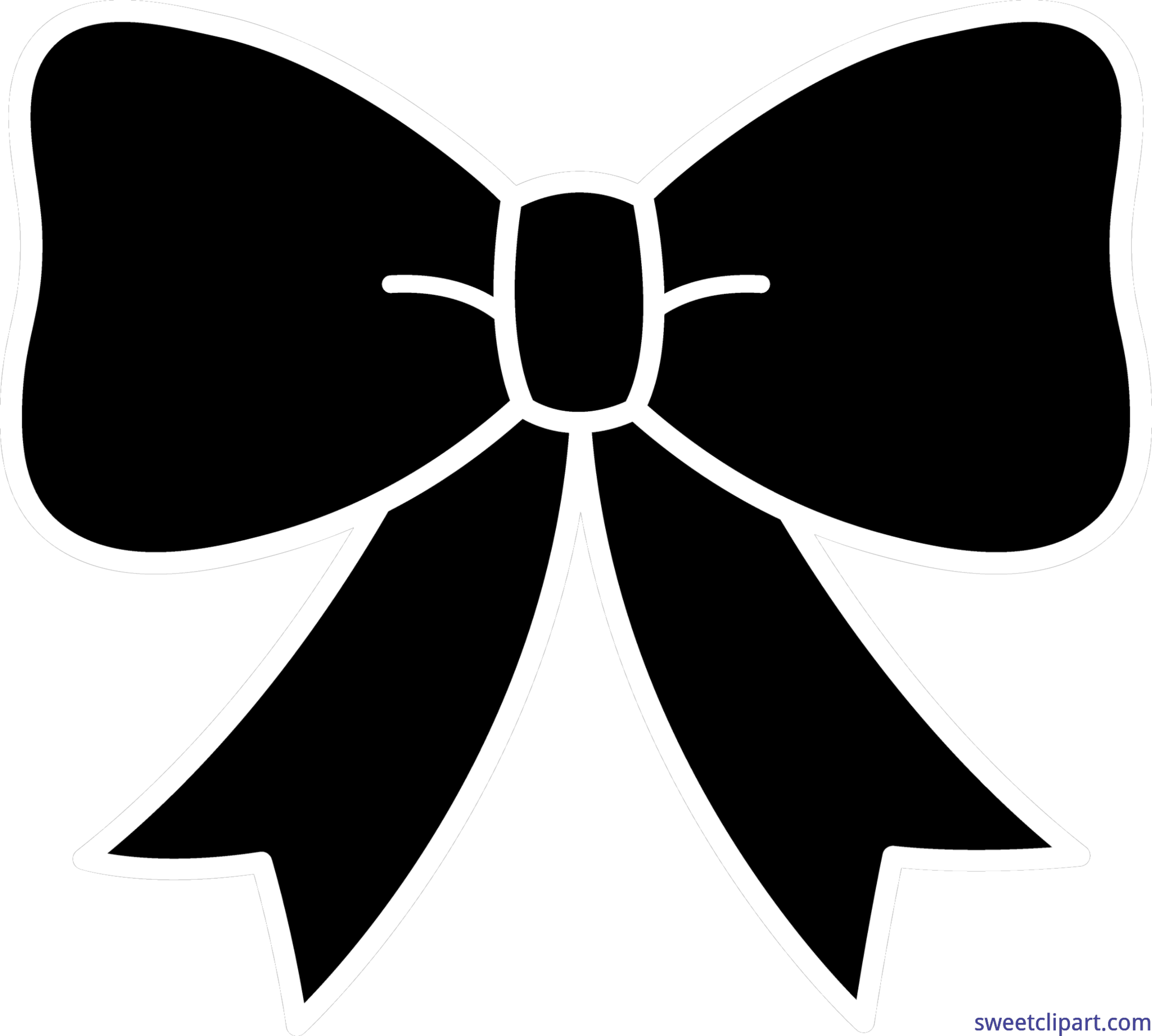 Signs vector fancy ribbon. Silhouette at getdrawings com