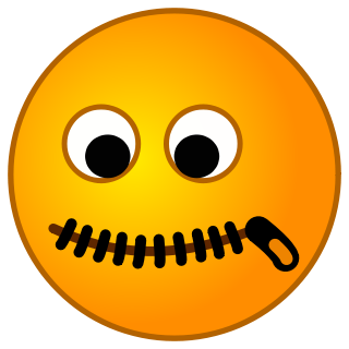 Silent clipart emoji. Interview tip the treatment