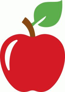 Silhouette clipart apple. Free svg graphics pinterest