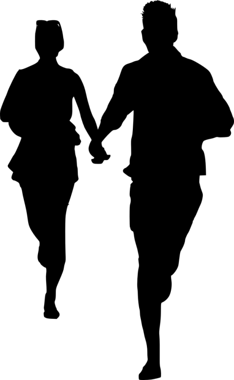 Silhouette couple png. Free images toppng