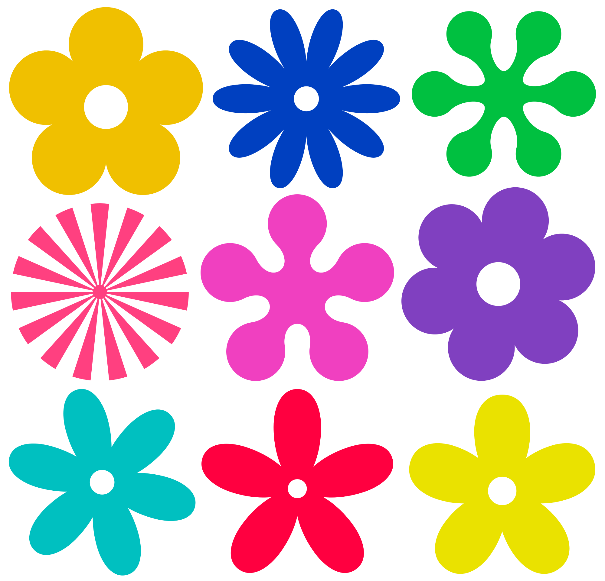 svg design flower