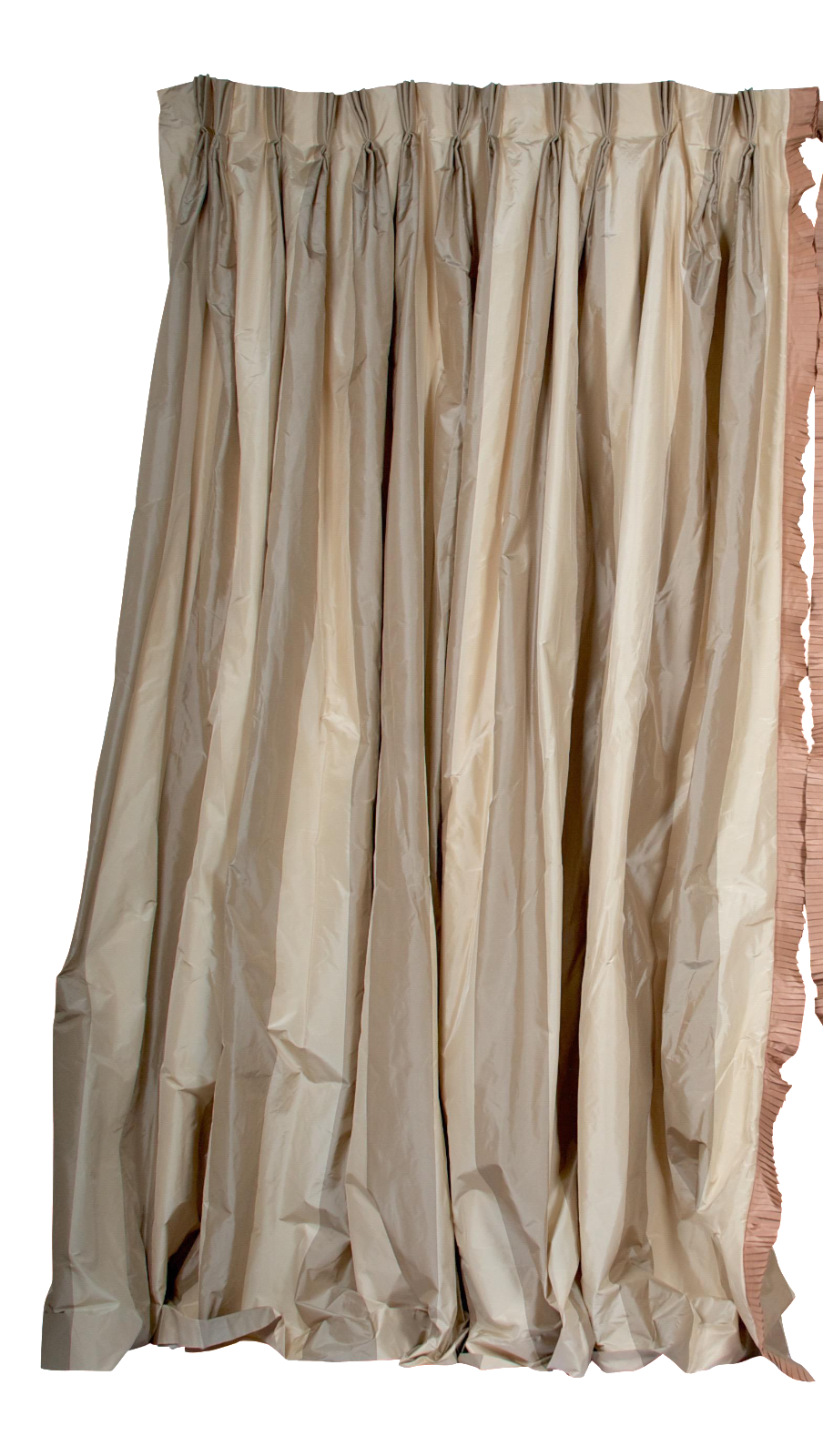 Hand fabricated curtains chairish. Silk curtain png banner black and white library