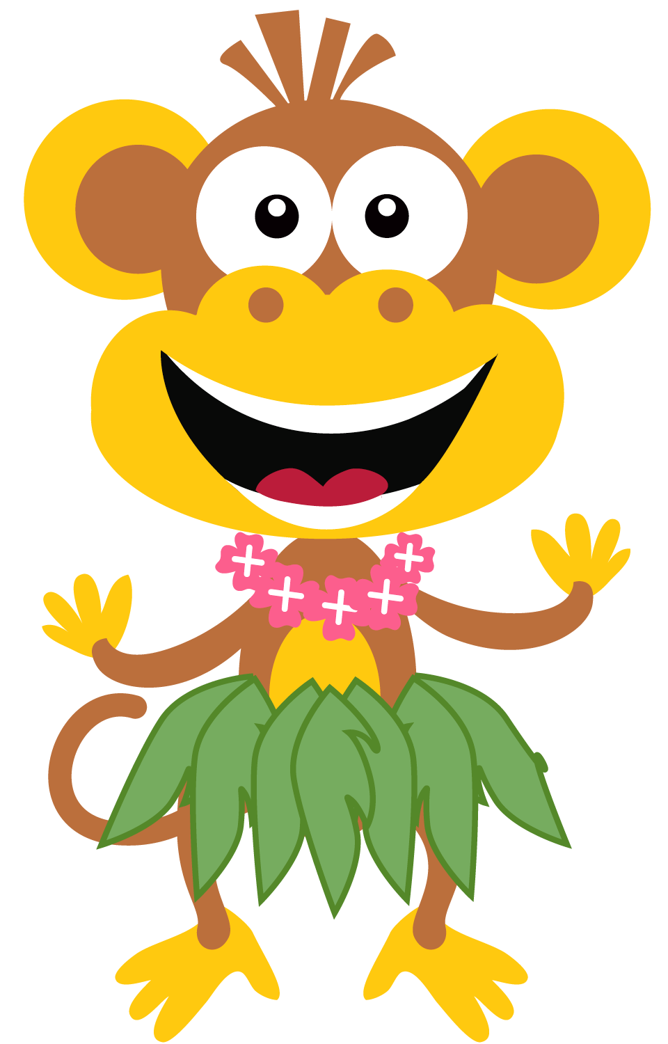 Silly clipart. Summer fun free