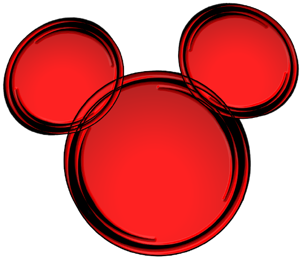 Silueta de mickey mouse png. Ears silhouette clipart free
