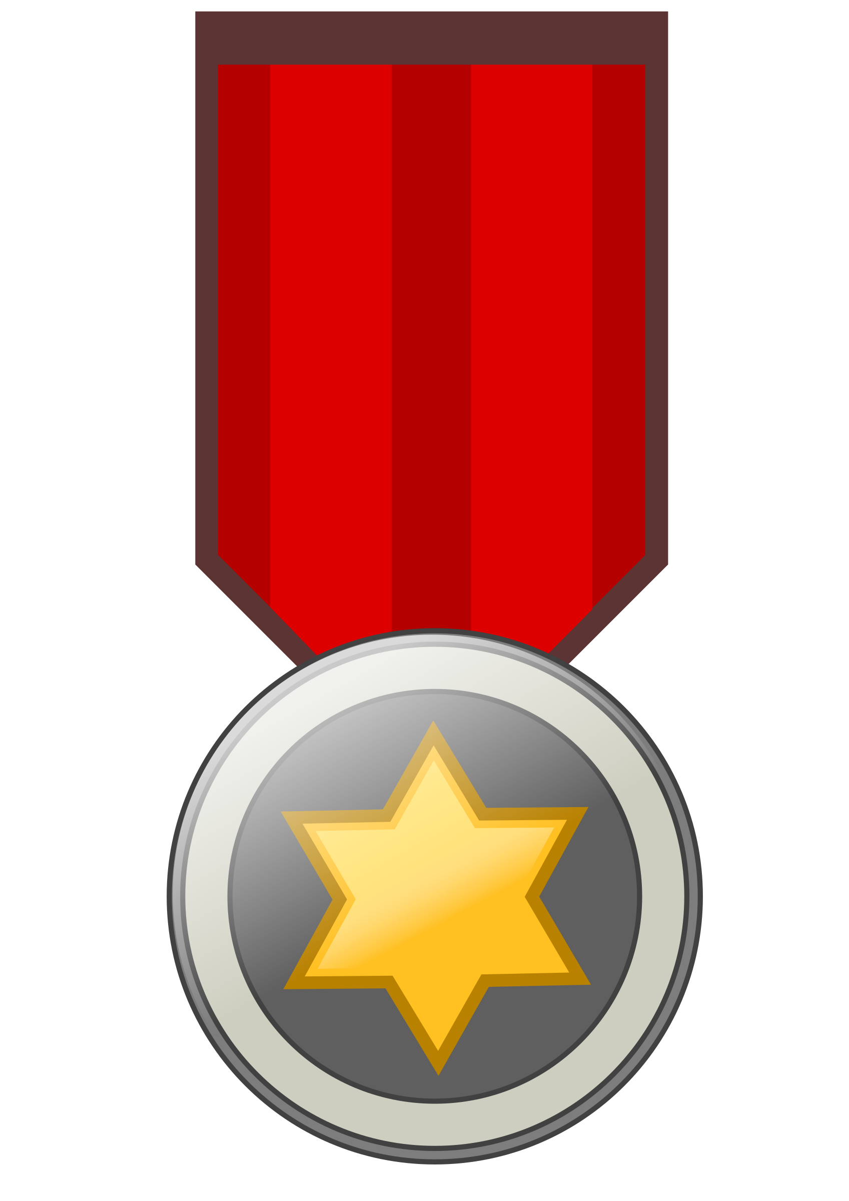 Silver award badge png. Star medal remix icons