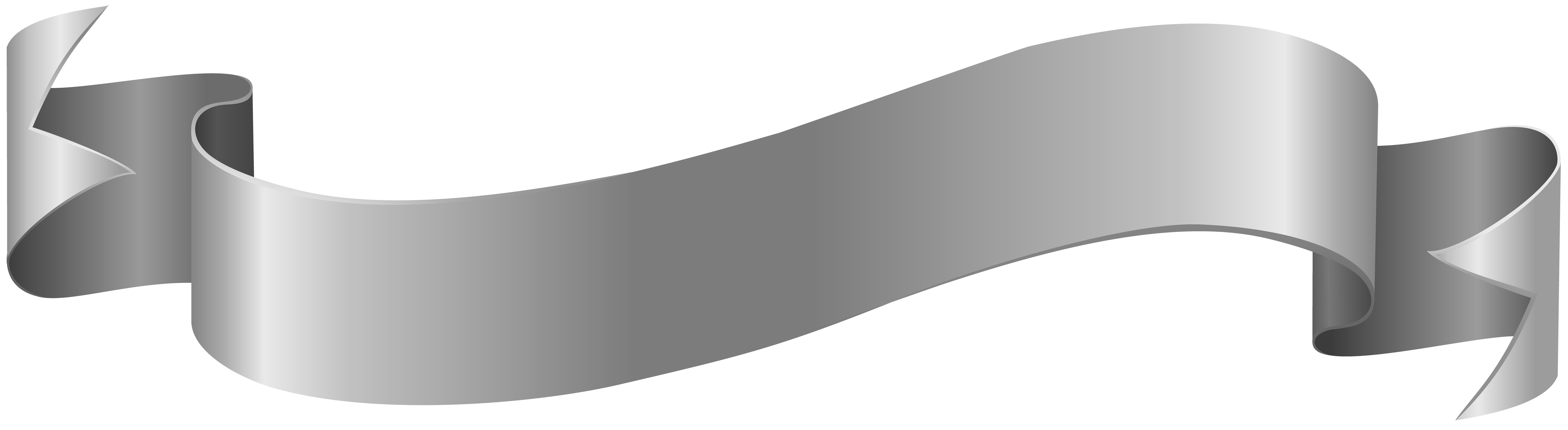 gray banner png