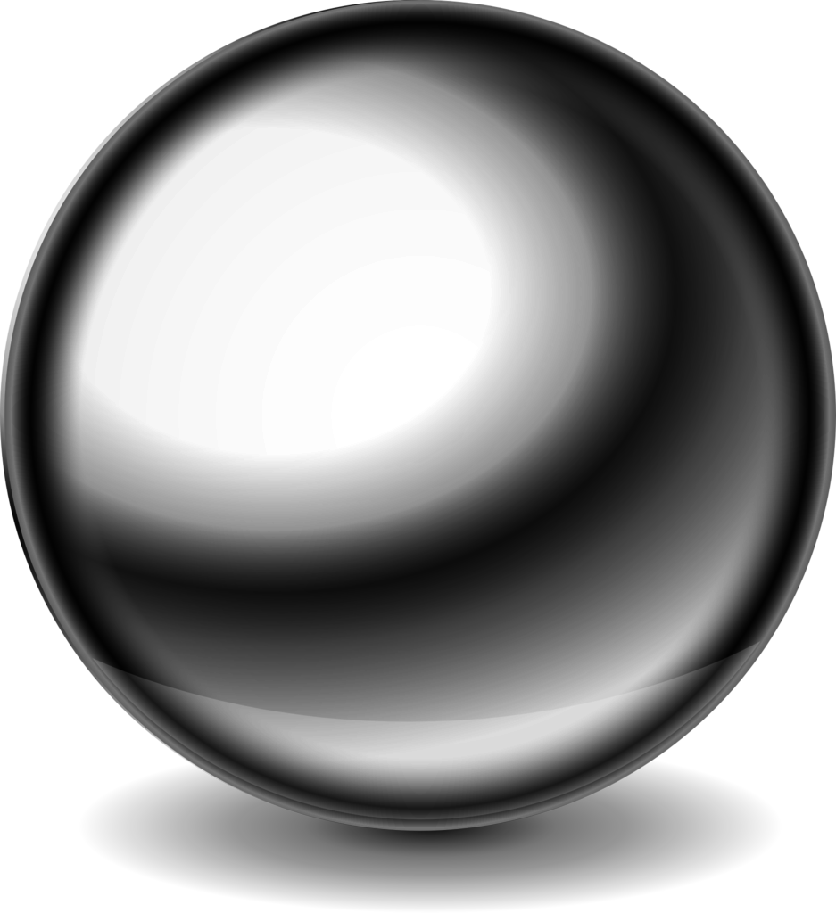 Silver ball png. File shiny steel wikimedia