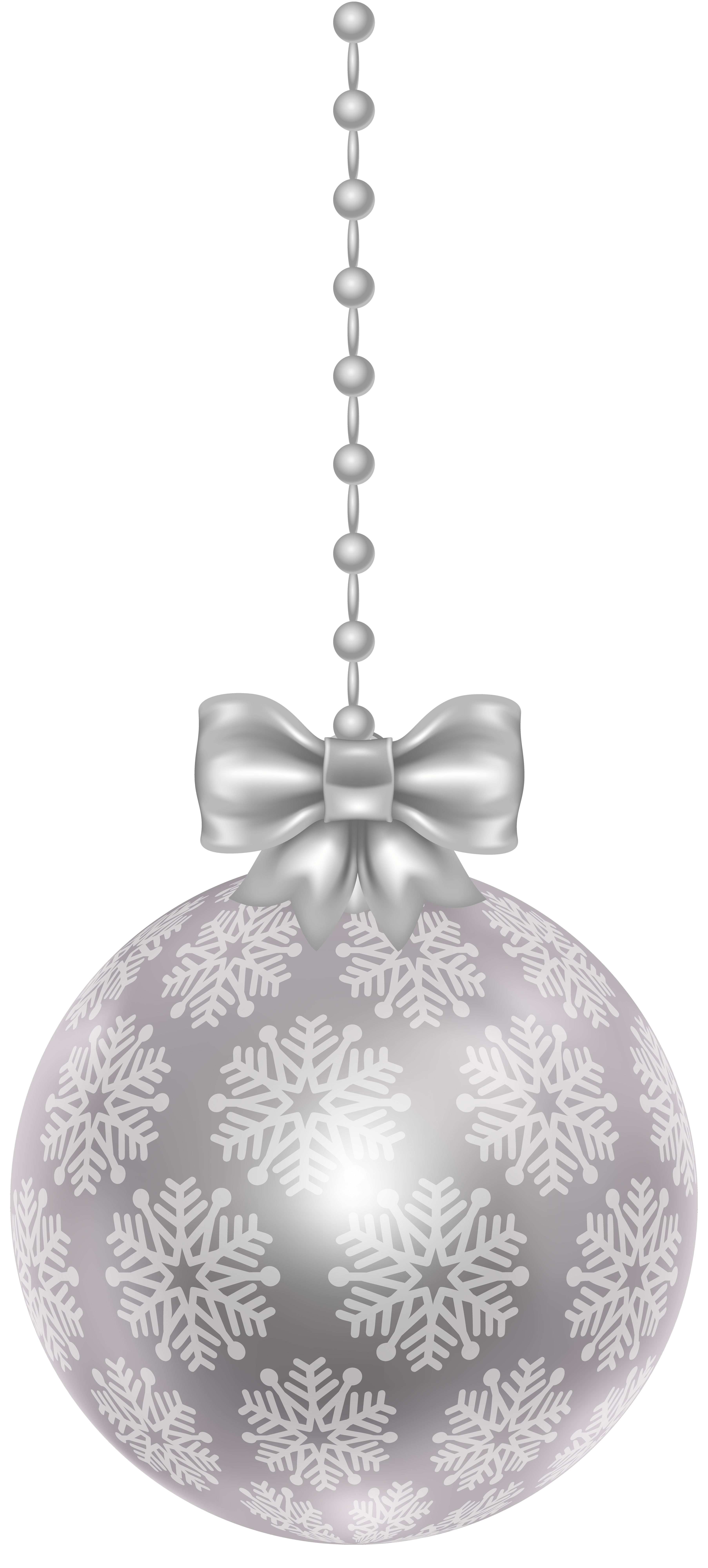 Silver christmas ornaments png. Ball transparent clip art