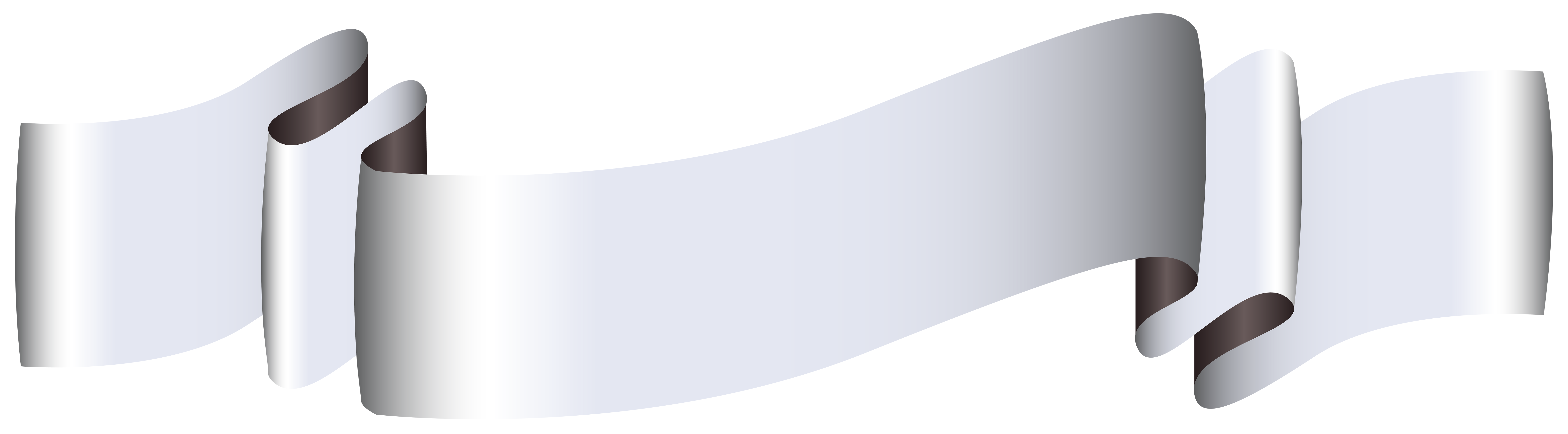 Silver banner png. Clip art image gallery