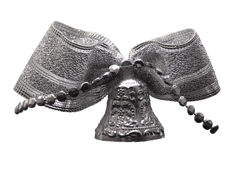 silver bow png