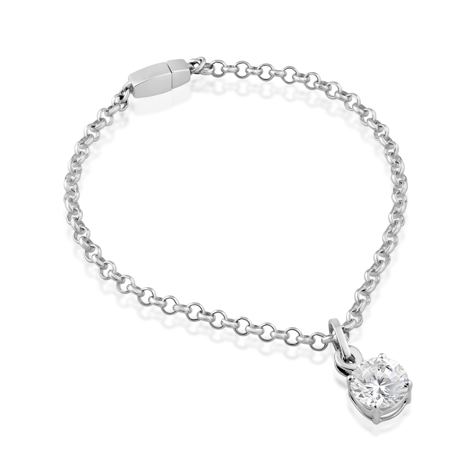 Drawing accessory bracelet. Sterling silver chain anklet