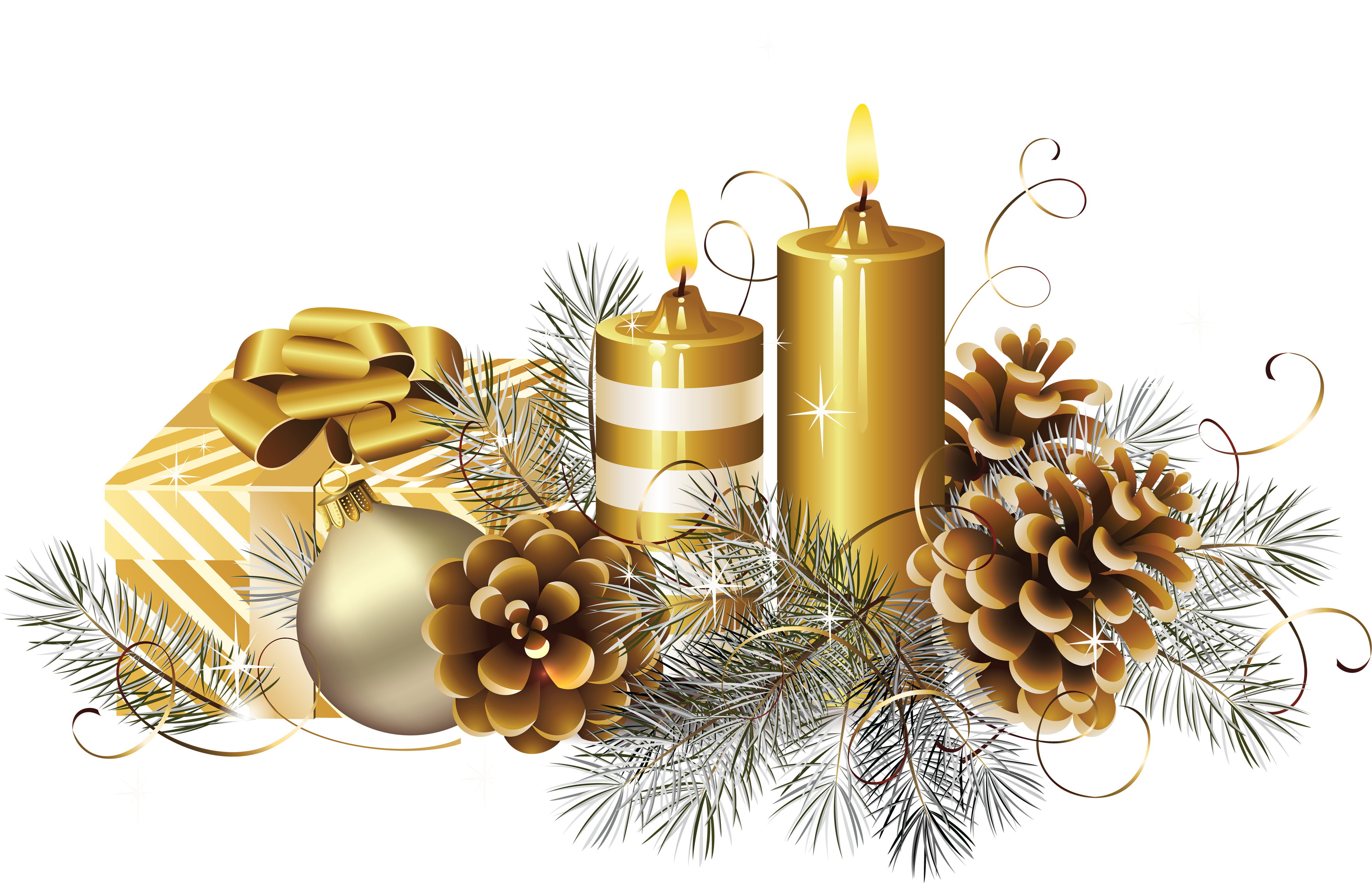 Silver christmas candles png. Candle s image purepng