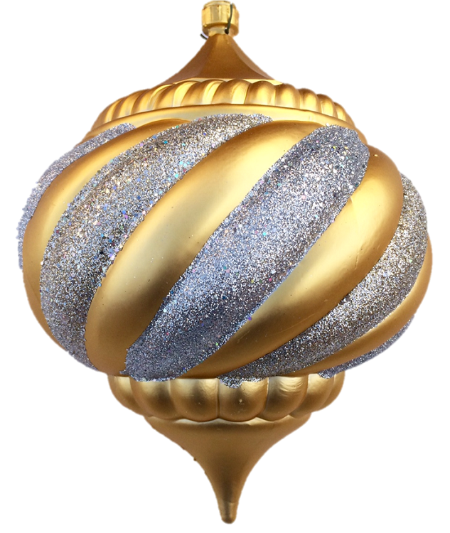 Silver christmas ornaments png. Mm gold onion